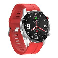 <b>DT21 Bluetooth Phone</b> PPG + ECG Heart Rate Watches Red ...