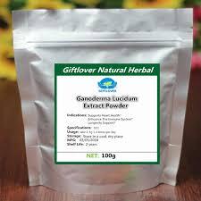 100% Pure Natural <b>Ganoderma</b> lucidum Extract Powder <b>Lingzhi</b> ...