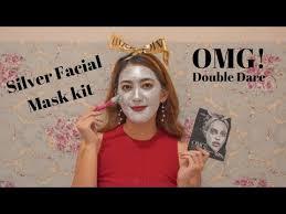 <b>Double Dare OMG</b>! Platinum Silver Facial Mask Kit - YouTube