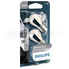 Галогенная <b>лампа Philips PY21W</b> Silver Vision 12496SVB2