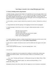 philosophy paper a moral dilemma handout outline sample paper   pages notes for tips on how to write a good and properly format philosophy paper