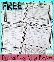 Teaching With a Mountain View  Decimal Place Value Resources     It covers all the common place value concepts such as rounding  comparing  standard form  expanded form  etc  with decimals