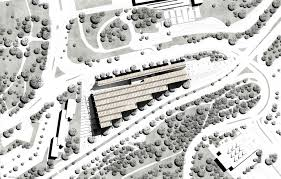 gallery of national library competition entry gil even site plan