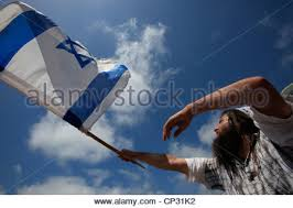 Image result for picture man israeli flag