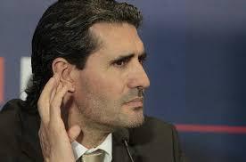José Luis Pérez Caminero, director deportivo del Atlético de Madrid / FOTO: Leonardo Wen - EFE. Ampliar. Síguenos. M. Bruña | Madrid 21/08/2011 02:00 - Jose-Luis-Perez-Caminero-direc_54184034261_54115221154_600_396