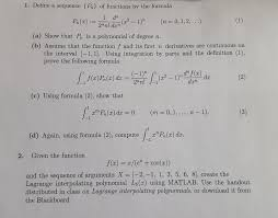 define a sequence pn of functions by the formula com question define a sequence pn of functions by the formula
