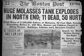 「Boston molasses disaster」の画像検索結果