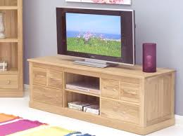 baumhaus mobel oak widescreen television cabinet allurefurnishingcouk baumhaus mobel solid oak mounted widescreen
