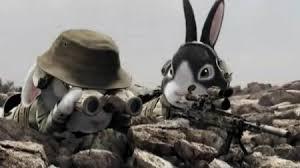 Résultat de recherche d'images pour 'image de lapin militaire'