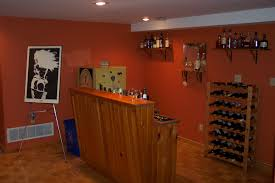 cool orange accents wall paint of basement bar designs idea inside wine bar decorating ideas bar furniture designs home