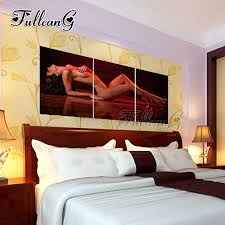 "<b>FULLCANG diy</b> 3 pieces <b>diamond</b> painting ""sexy seductive woman ..."