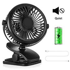 COMLIFE USB <b>Desktop Fan</b>, <b>Mini</b> Portable <b>Clip Fan</b> with ...