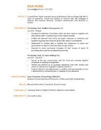 purchasing clerk cv powered by career times purchasing clerk cv