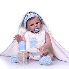 Buy <b>NPK</b> Collection 20inch <b>50cm</b> Full <b>Silicone Reborn Baby</b> Doll ...