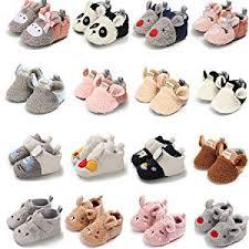 Sawimlgy Infant Baby Boys Girls Cute <b>Cartoon</b> Slippers <b>Warm</b> ...