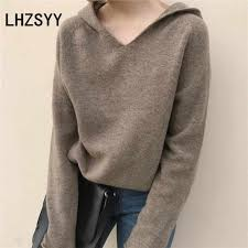 <b>LHZSYY</b> Autumn New Women' <b>Cashmere Sweater</b> Loose Large ...