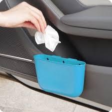 Car Cup Holder Garbage Can Portable Vehicle Trash ... - SUNSKY