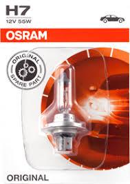 <b>Лампа OSRAM H7</b> 55W <b>12V</b> PX26D, блист. 64210-01B – купить в ...