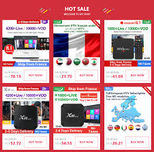 <b>Arabic IPTV France QHDTV</b> 1 Year MX10 Android 9.0 4G+64G UK ...