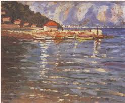 winston churchill s paintings great statesman surprisingly good the harbour at st jean cap ferrat