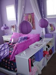 tween room this is a chic purple tween room the bed is surrounded by bedroom accent lighting surrounding