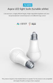 New <b>Xiaomi Aqara</b> Zigbee Smart White Color <b>LED Bulb</b> 9W E27 ...