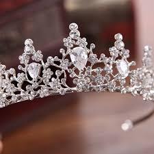 Bride Crown <b>Zircon Luxury</b> Elegant Wedding Women Tiara Princess ...