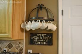 coffeemugs unique diy coffee station