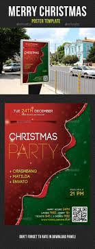 christmas poster templates share stock merry christmas poster template v01 signage print templates
