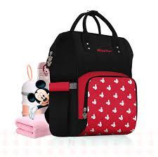 <b>Disney diaper bag</b> backpack Large capacity maternity <b>mummy</b> bag ...