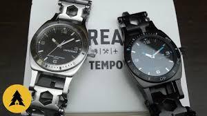Мультитул <b>Часы Leatherman Tread Tempo</b> / Black - YouTube