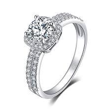 Amazon.com: <b>JewelryPalace</b> 1ct Cubic Zirconia Anniversary ...