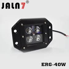 <b>5Inch</b> 12V <b>40W</b> Square Spotlight <b>LED Work</b> Light Bar Bumper Off ...