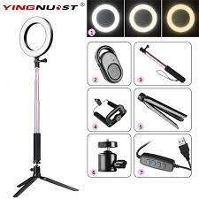 <b>Photography Dimmable LED Selfie</b> Ring Light Youtube Video Live ...