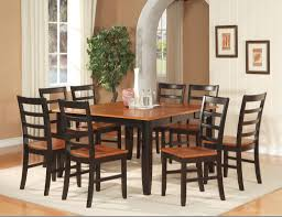 wood combination dining table