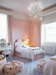beautiful shabby chic bedroom for girl with floral rug and classy chandelier beautiful shabby chic style bedroom