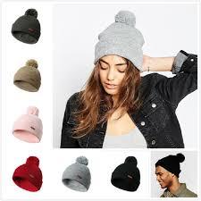 Winter <b>Hats</b> For <b>Women Knitted Caps</b> Woolen <b>Hat</b> Girl Casual ...