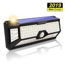 <b>136LED Solar</b> Motion Sensor Light <b>Outdoor</b> Super Bright Wireless ...