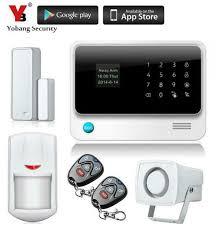 <b>Yobang Security Wireless</b> GSM <b>Wifi</b> Alarm <b>System</b> IOS Android APP ...