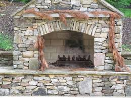 fireplace design awesome outdoor ideas