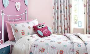 Owl Bedroom Curtains Pretty Owls Childrens Bedroom Trend Dunelm