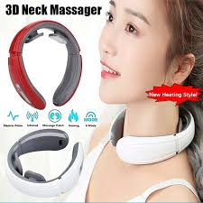 New Upgraded <b>Intelligent 3D Neck</b> Massager Far Infrared Heating ...