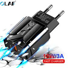 <b>OLAF</b> Quick Charge <b>3.0 USB</b> Charger QC <b>3.0</b> Fast Charging EU US ...