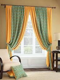 <b>Комплект штор</b> «<b>Понд</b> (жёлто-оранжевый)» | Идеи домашнего ...