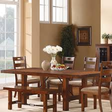Oak Furniture Dining Room A Dining Table And Bench Set In Oak And White Photos Dining Room