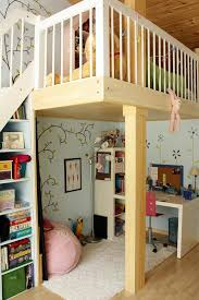 girls loft contemporary kids room idea for girls in boston with blue walls bunk beds casa kids