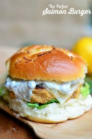 The <b>Perfect Salmon Burger</b> - Will Cook For Smiles