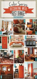 rust orange is such a warm cosy shade when used in a living room it is the epitome of autumn whenever i see something in this beautiful colour it bedroomendearing living grey room ideas rust