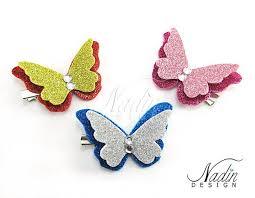 <b>Бабочка</b> из блестящего фоамирана на <b>заколке</b> | Ремесла ...