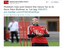 Man United fans react to the horror draw of Bayern Munich [Best ... via Relatably.com